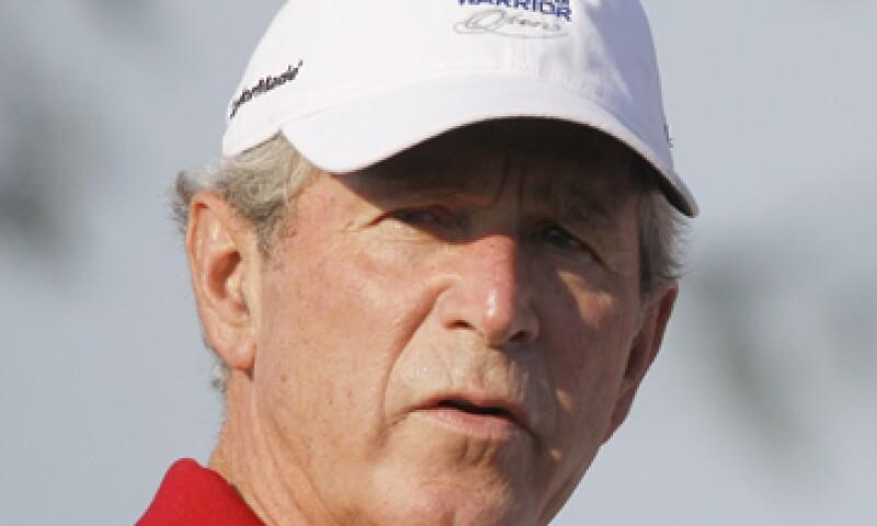 George W. Bush sumó poco más de 1.3 millones de dólares en gastos. (Foto: AP)