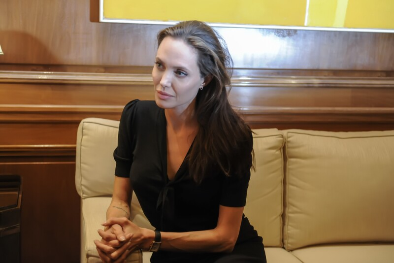 Angelina Jolie, hija del actor Jon Voight