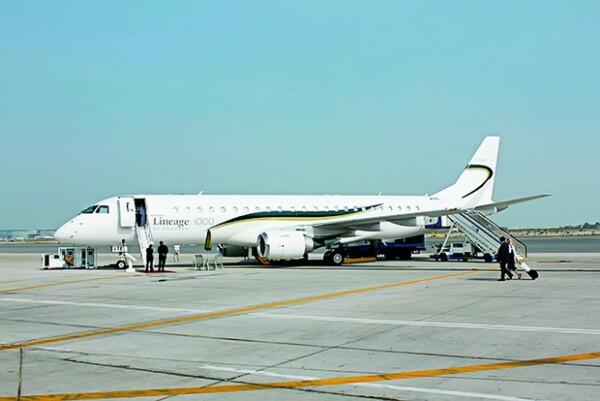 El jet fue entregado durante una ceremonia especial en Sao José dos Campos; es el primero en su tipo en la región de América Latina.