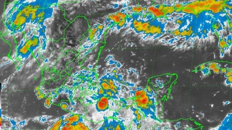 Los fenómenos meteorológicos que afectan al Océano Pacífico este martes pusieron en alerta a varios estados