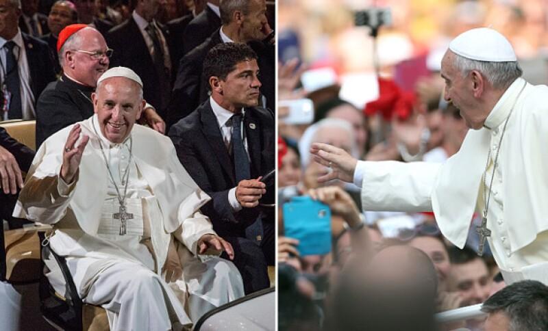 El Papa es uno de los más queridos por la conexión que hace con la gente en sus giras.