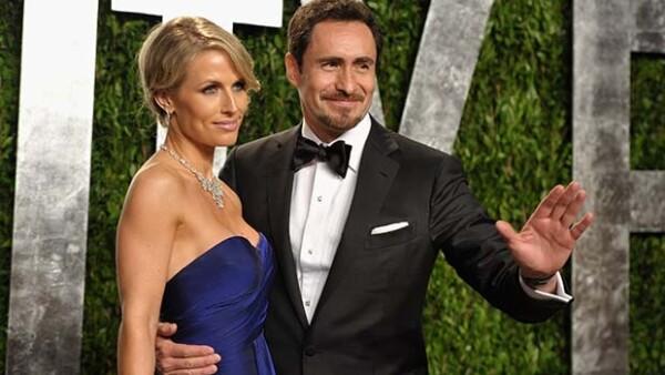 El actor mantiene una relación con la canadiense Stephanie Sherk.