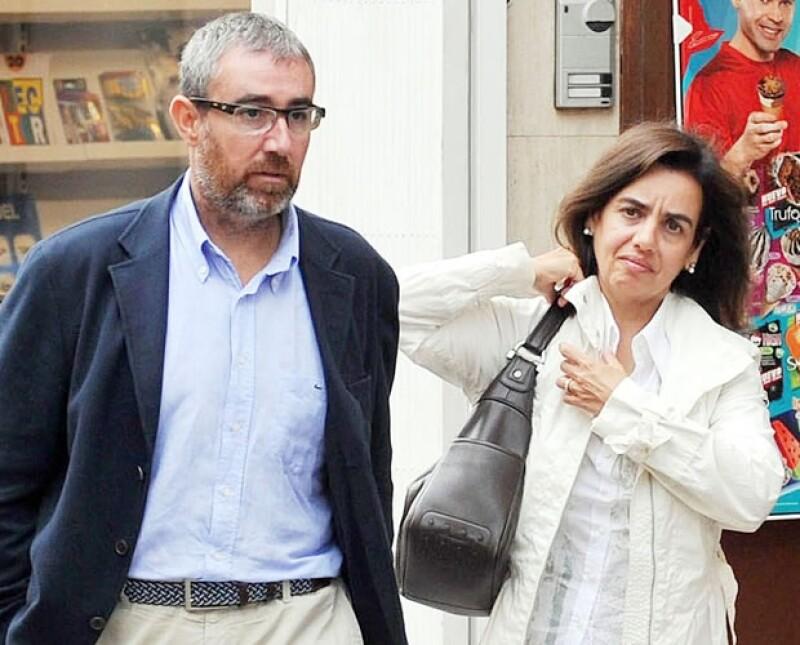 Él es Diego Torres, otro de los principales implicados, junto a su esposa Ana.