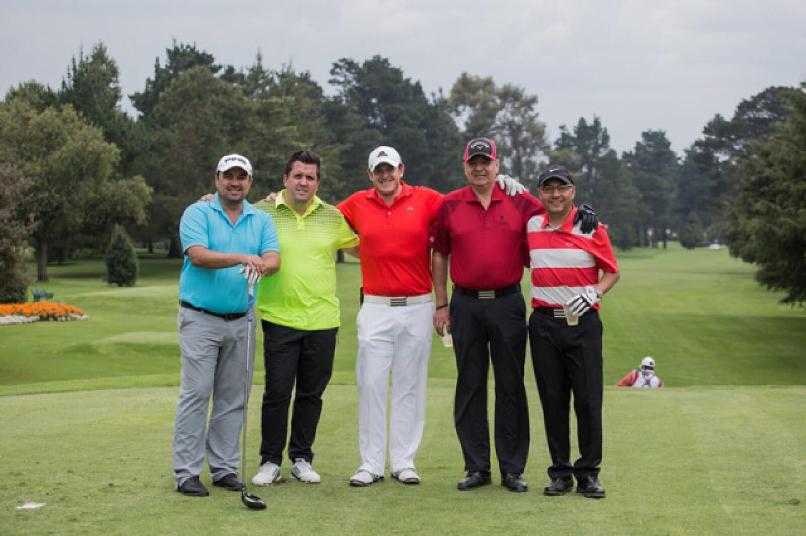 Luis Rodrigo López, Claudio Molina, Francisco Plasencia, Luis Armando López y Francisco Soto