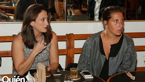 Jane Rubennstein y Stefanie Frey