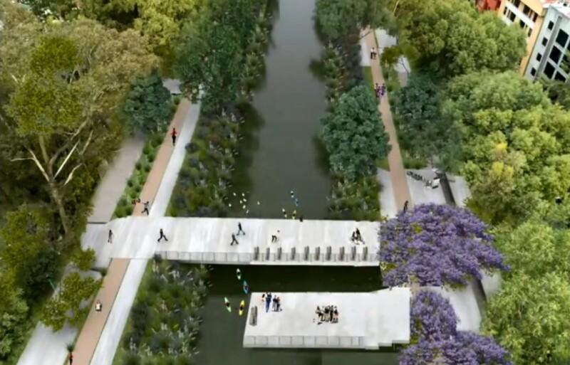 Parque Lineal en Canal Nacional