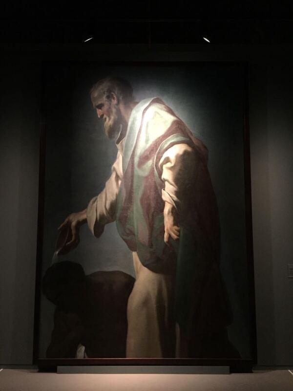 San Felipe bautiza al enuco de la Reina Candace, de Francesco Trevisani
