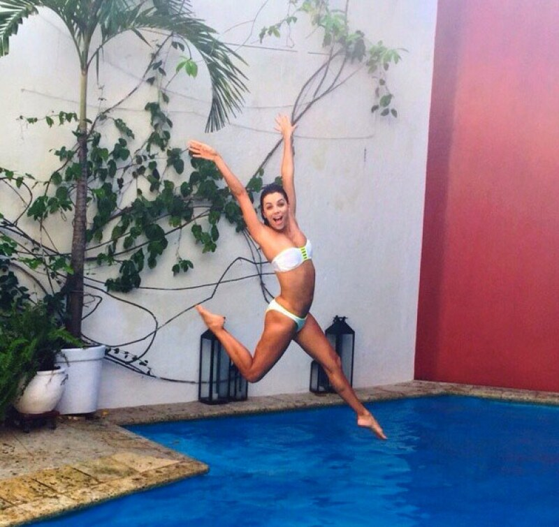 A decir por las fotos que compartió en Instagram, Eva Longoria pasó unas vacaciones de lo más divertidas en Cartagena.