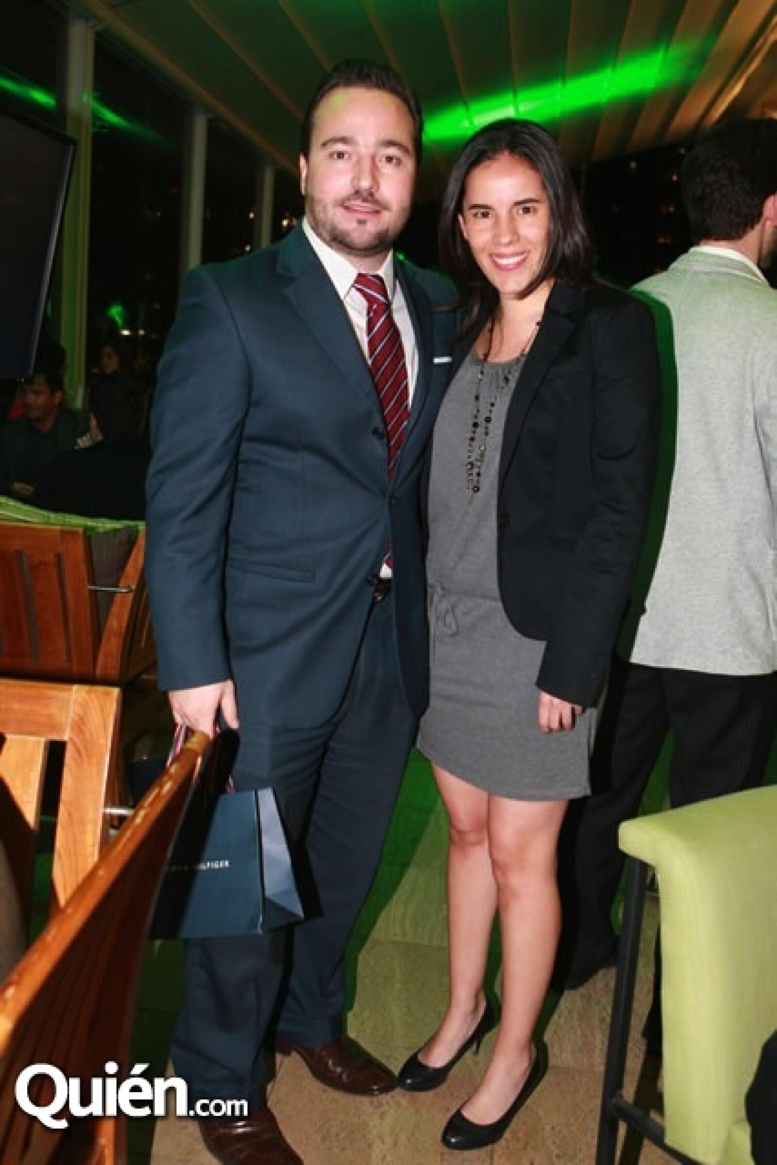 Erick Hernández y Karla Báez