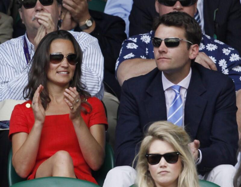 La hermana de la Duquesa de Cambridge se da una segunda oportunidad con su ex novio.