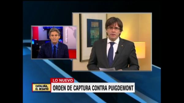 España dicta una orden de captura internacional contra Carles Puigdemont