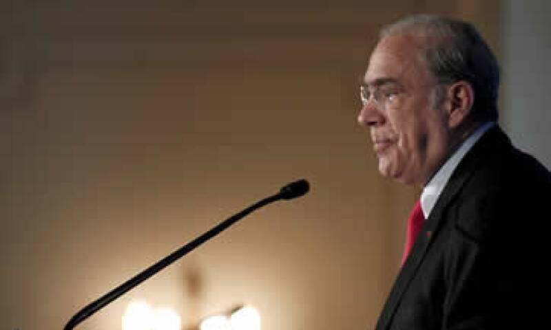 José Ángel Gurría dice que los legisladores mexicanos deberían estar orgullosos de la agenda de reformas. (Foto: Notimex)