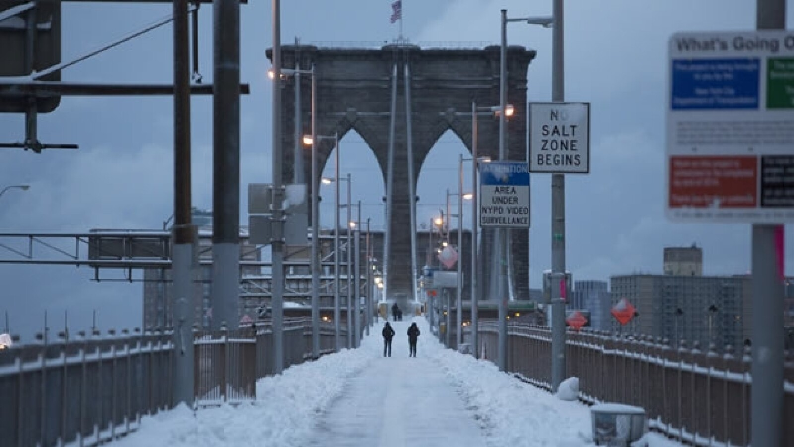 e brooklyn, tormenta invernal