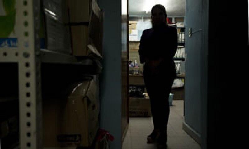 María Luis Vargas, al frente de la comisión de Seguridad en la Coparmex, ha sido amenazada y tiene escolta las 24 horas del día. (Foto: Jesús Almazán / Revista Expansión)