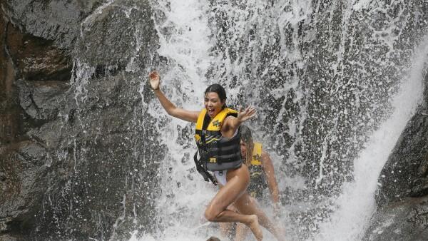 Kourtney Kardashian en Hawái