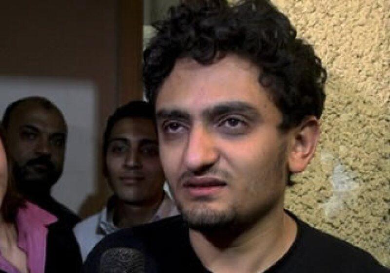 Wael Ghonim dijo que el sistema basado en no poder opinar debe ser echado abajo. (Foto: AP)