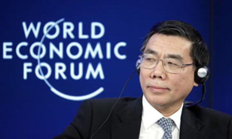 Jiang Jianqing dijo en Davos que su compañía no pagará los platos rotos. (Foto: Getty Images)