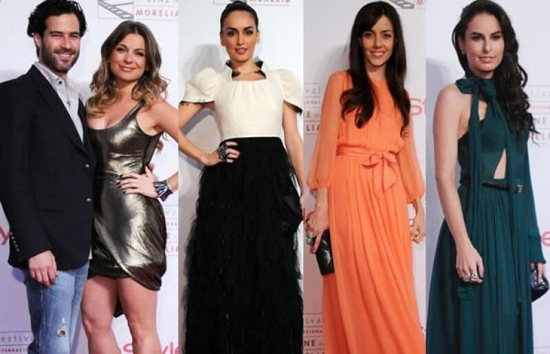 Emiliano Salinas, Ana de la Reguera, cecilia Suárez y Ana Serradilla fueron algunas de las estrellas que desfilaron en la alfombra roja del FICM.