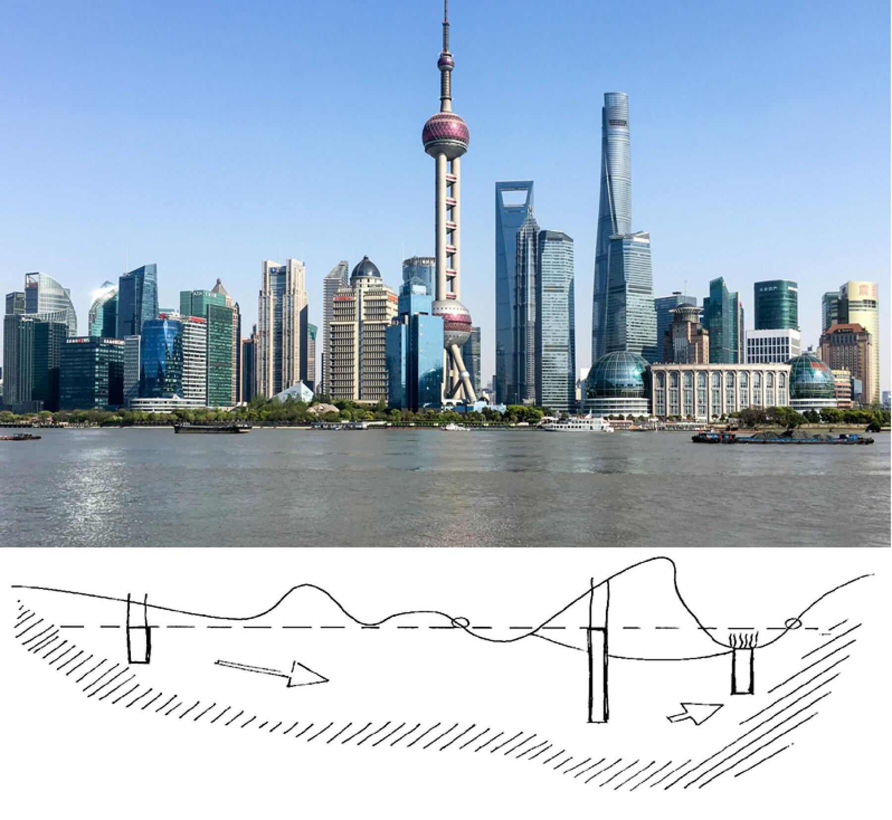 Hundimiento Shangái