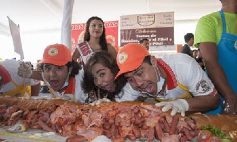 La Feria de la Torta se celebra del 30 de julio al 3 de agosto. (Foto: Cuartoscuro)