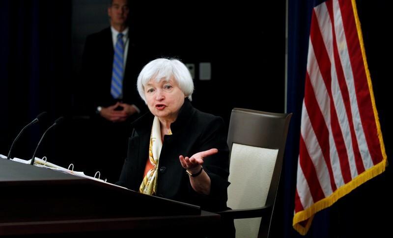 Janet Yellen anunció que la tasa de interés se mantendrá en los niveles actuales.