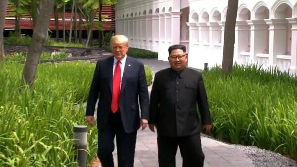 Kim Jong Un se comprometió a la desnuclearización completa de Corea del Norte