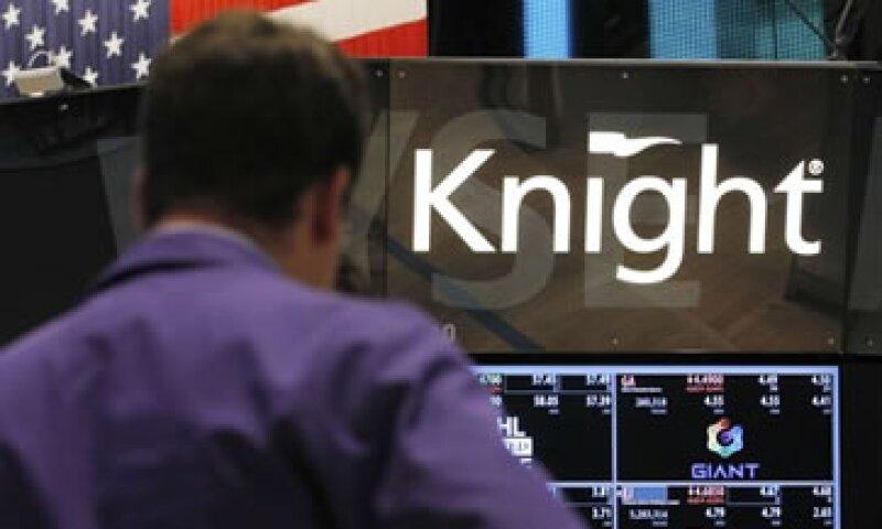 Knight informó que los problemas informáticos que tuvo estuvieron relacionados con el nuevo sistema de trading del NYSE.  (Foto: Reuters)
