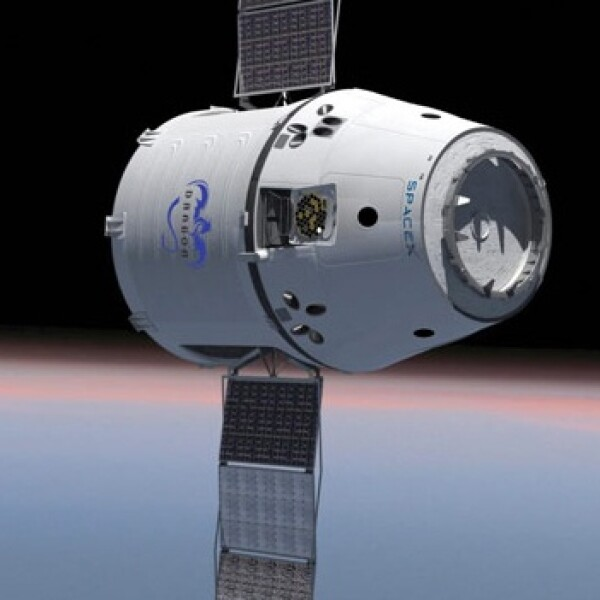 La nave orbital SpaceX alberga hasta 7 pasajeros