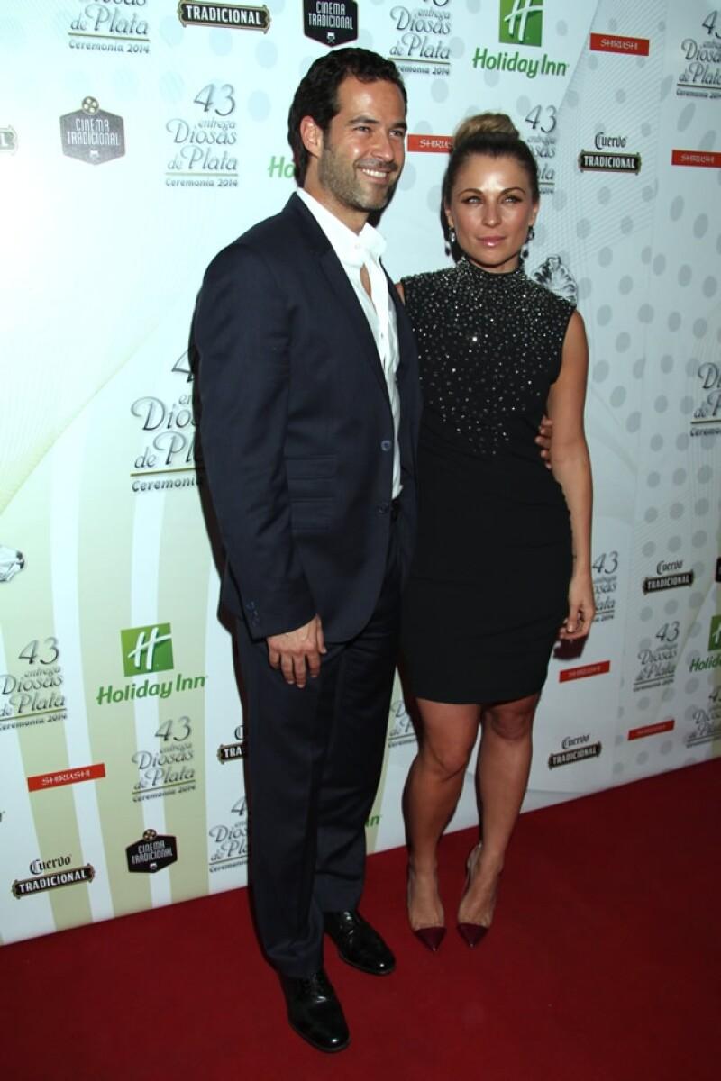 Como es costumbre, Emiliano y Ludwika fueron de los mejor vestidos de la noche de los premios.