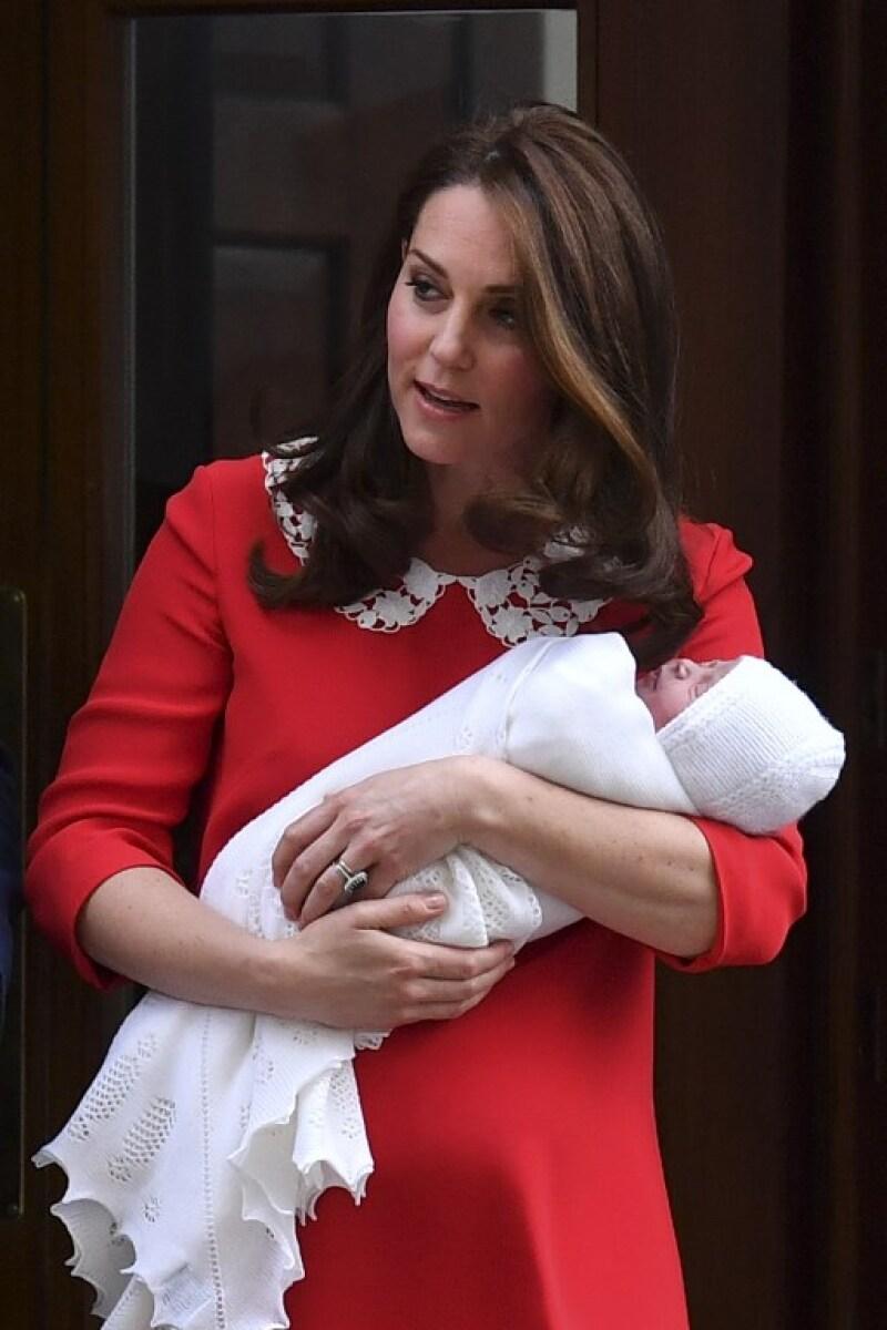 Kate y William presentan oficialmente a su tercer hijo.