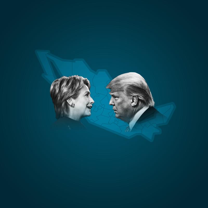 Clinton y Trump han alcanzado el número necesario de delegados para amarrar la candidatura de sus respectivos partidos.