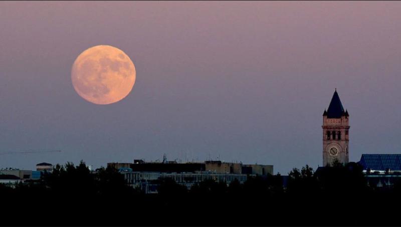 ¿La luna se verá de color rosa?