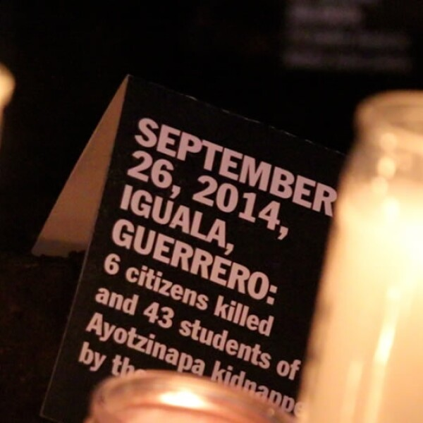 Vela Iguala 26 septiembre