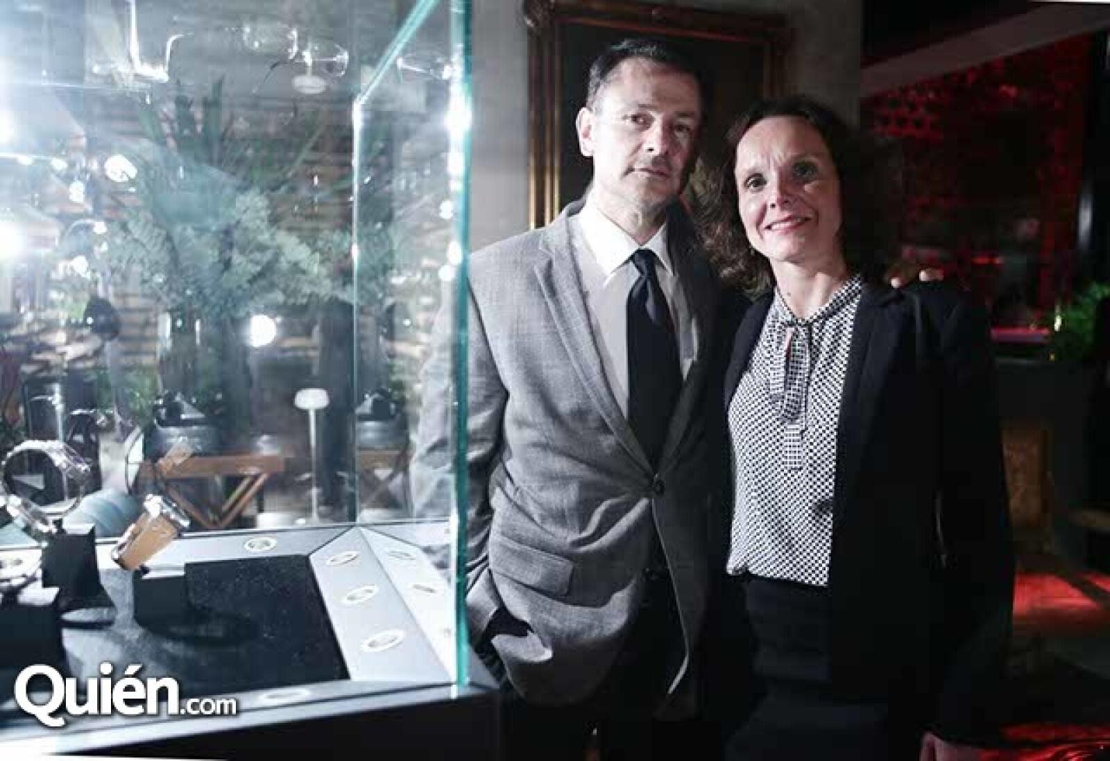 Fernando Fanghanel y Stephanie Mallet