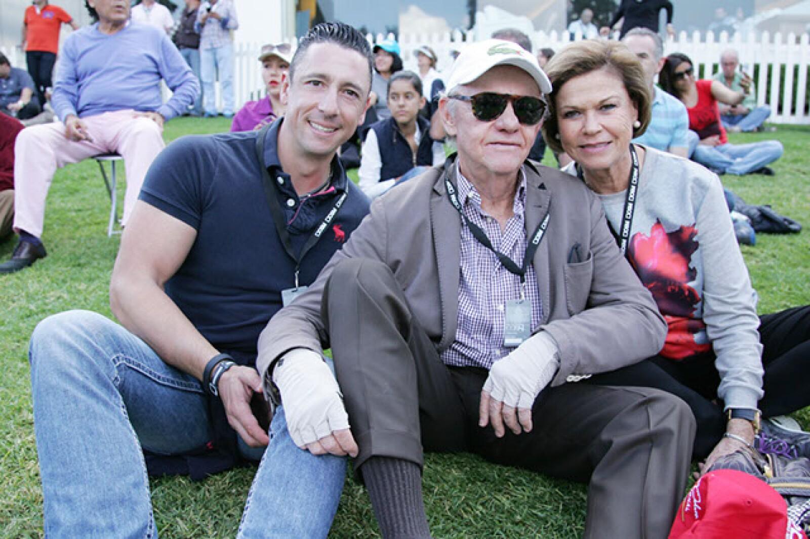 Alejandro Macotela,Francisco y Laura Lavat