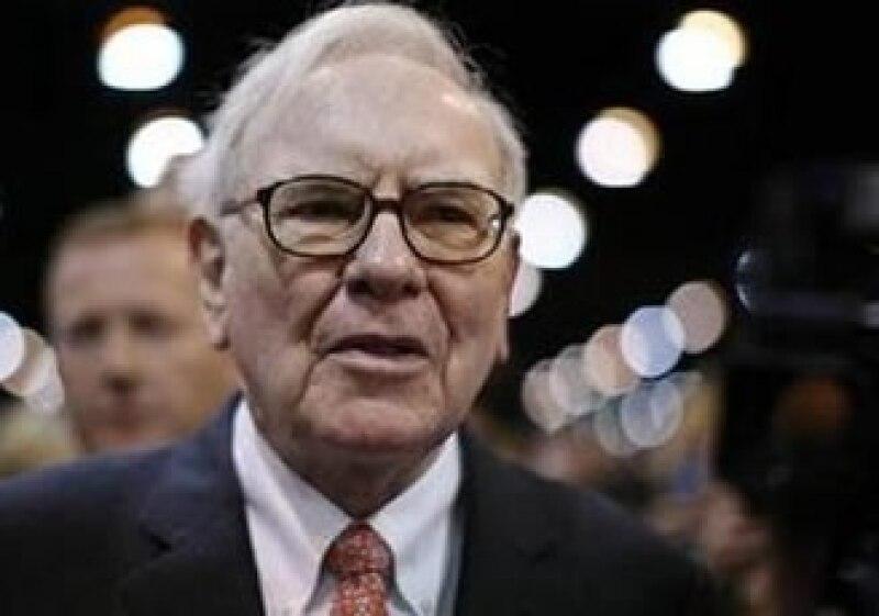 Warren Buffett apoya un nuevo paquete de estímulo para la economía de EU. (Foto: Reuters)