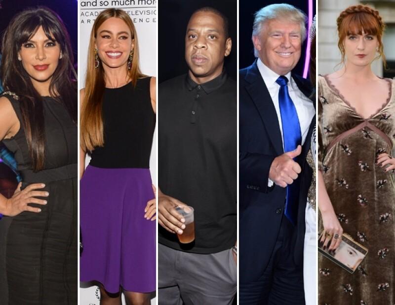 El Presidente de Estados Unidos no ha sido tímido al momento de expresar gusto o desprecio por varios personajes de la industria del entretenimiento.
