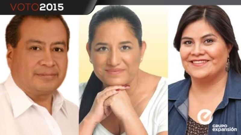 Candidatos Milpa Alta