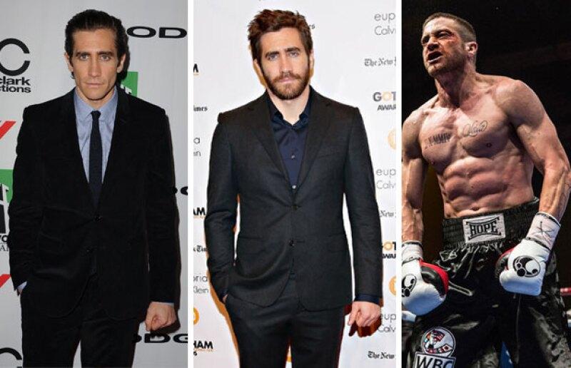 Después de estar sumamente delgado, el actor reaparece lleno de músculos para su nuevo papel en la pantalla grande.