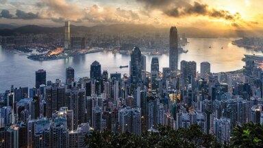 Hong Kong desde el Victoria Peak