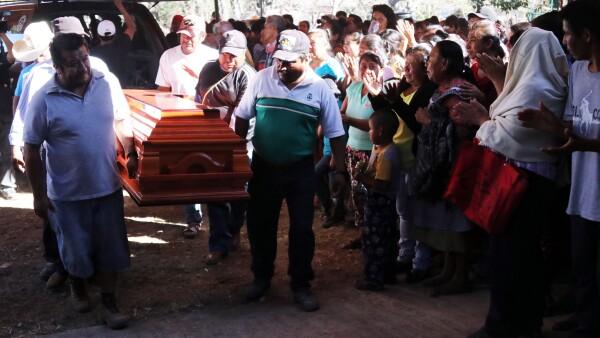 Samir Flores funeral