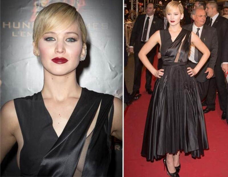 """La actriz recién estrenó look pero además, en cada país que ha visitado para presentar la segunda película de """"The Hunger Games"""", sus outfits han tenido un estilo muy diferente."""