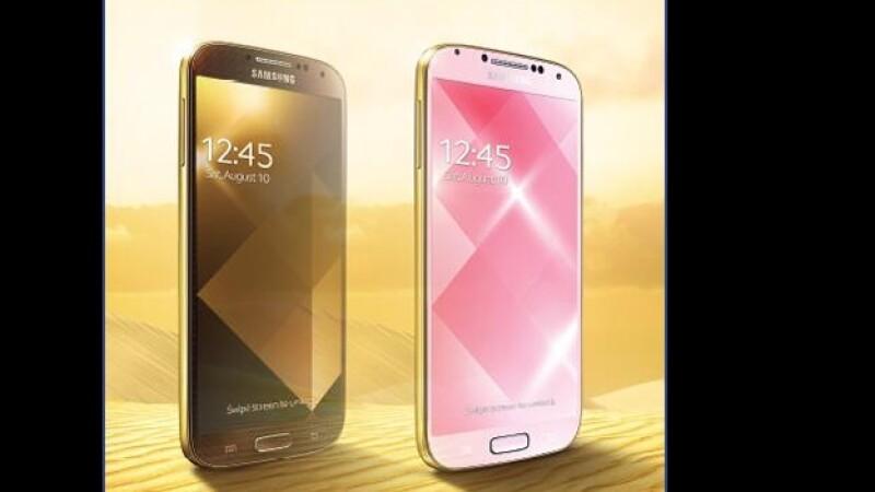 Galaxy S4 dorado
