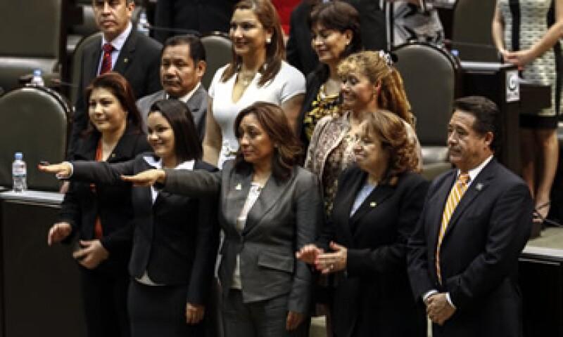 En el rubro de empoderamiento político sobresale el avance de equidad de género en el legislativo. (Foto: Cuartoscuro )