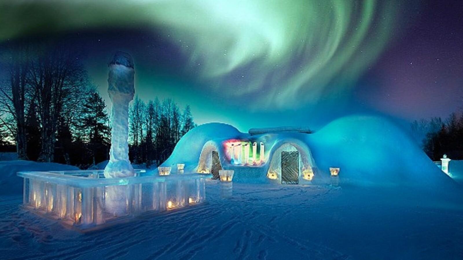aurora polaris Escandinavia