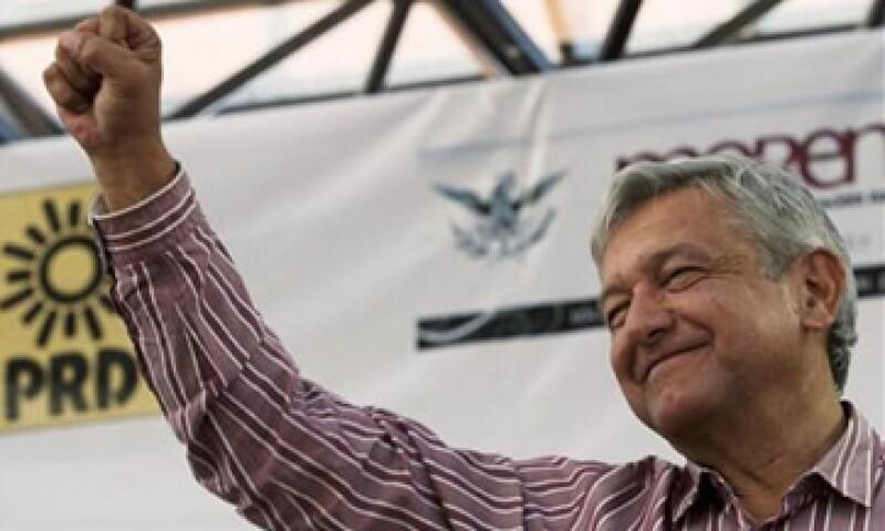 Andrés Manuel López Obrador ha buscado suavizar su imagen de agitador acercándose a la comunidad empresarial. (Foto: Reuters)