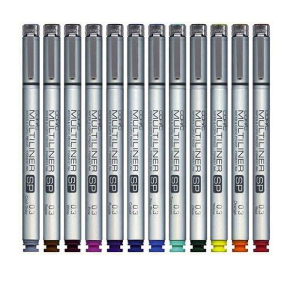 Copic Multiliner SP Color. $1,800 pesos. lumen.com.mx