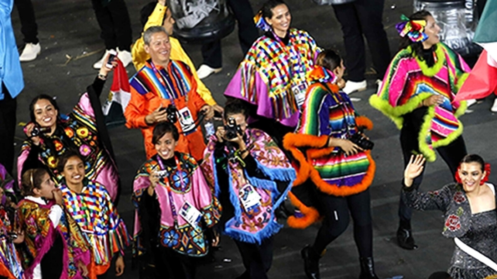 Vestuario olimpico mexico