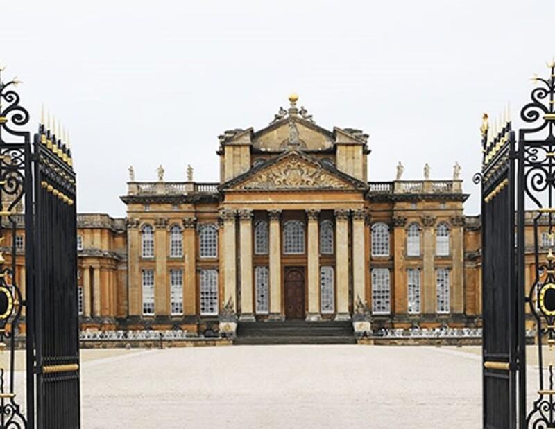 El palacio que de Blenheim fue el escenario perfecto para el desfile.