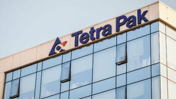 Tetra Pak fachada y logo